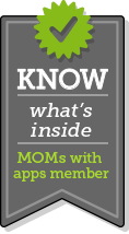 Mom With Apps Badge